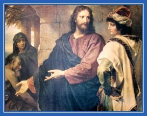 Иисус Христос, и богатый юноша