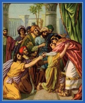 Иосиф признается братьям, открывается