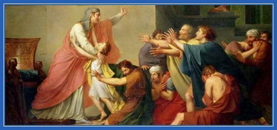 Признание Иосифа братьям