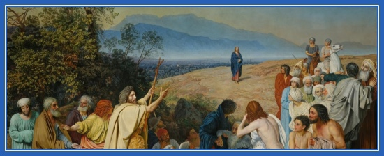 Явление Христа, проповедь Иоанна Крестителя