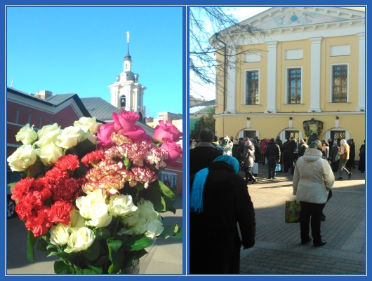 Покровский монастырь, Цветы