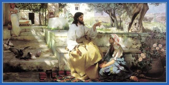 Иисус Христос у Марфы и Марии