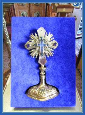 Крест Животворящий, Частица, мощи, мощевик
