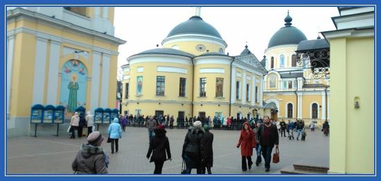 Покровский монастырь, Москва, святая Матрона