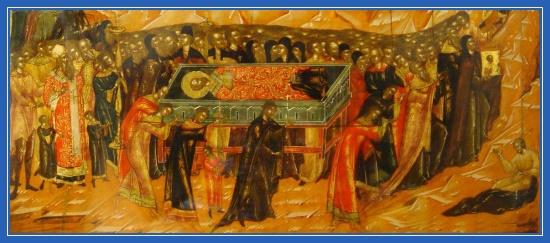 Перенесение мощей святителя Николая, Чудотворца, Бари