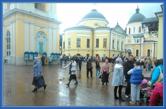 Фотография Покровского монастыря, Москва
