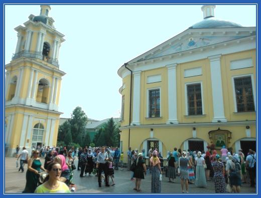 Чудотворная икона, святая Матрона, Покровский монастырь