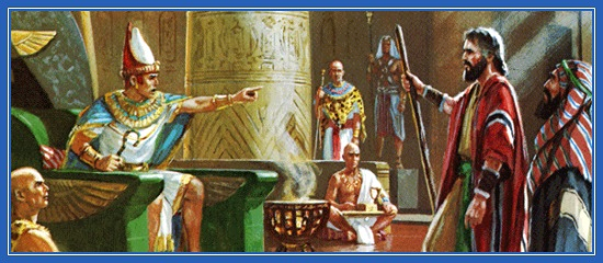 Моисей, Египет, Фараон