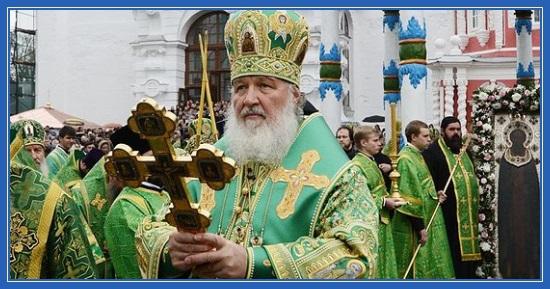 Патриарх Кирилл, Преподобный Сергий Радонежский