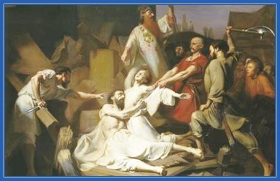 Первые мученики Феодор Варяг и сын его Иоанн в Киеве
