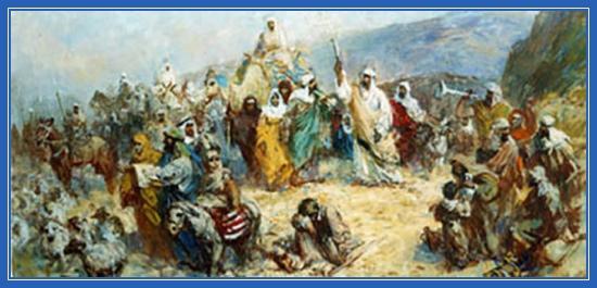 Сорокалетнее странствование евреев, Ветхий Завет, еврейский народ