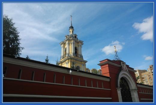 Колокольня, Покровский монастырь