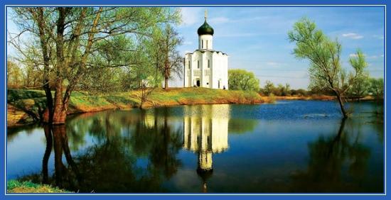 Покровский храм, на Нерли