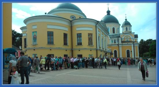 Покровский монастырь 14 августа
