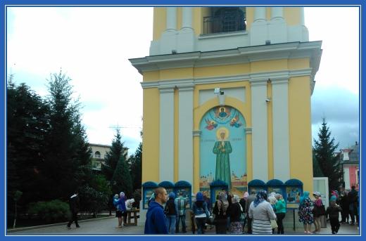 Покровский монастырь, колокольня, икона