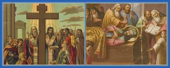 Воздвижение Креста Господня, Преставление Иоанна Златоуста