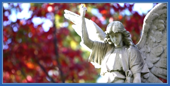 Ангел, осень