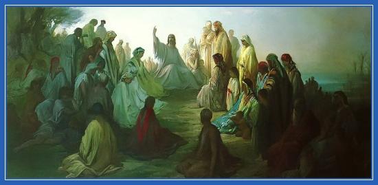 Евангельская проповедь, Иисус Христос, проповедует