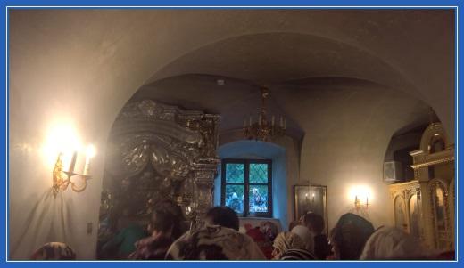Мощи святой Матроны, Покровский храм