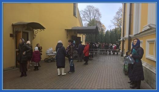 Покровский храм, вход