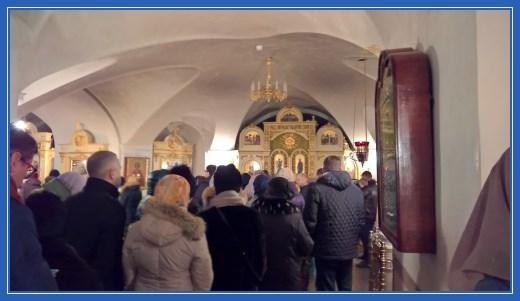 Покровский храм - внутри