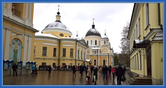 Покровский монастырь, зима, снег, Москва