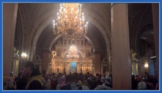 Воскресенский собор, служба, литургия