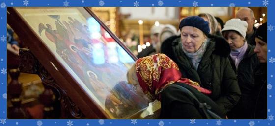 Чудотворная икона, чудо исцеления, Рождества Христова