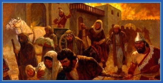 Плеление евреев, Вавилон