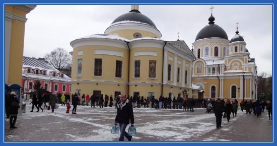 Покровский монастырь, ноябрь