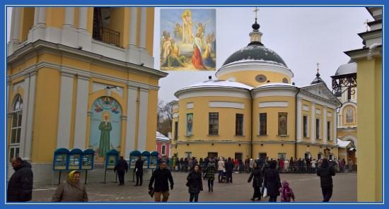 Покровский монастырь, праздник Всех скорбящих Радость, Москва