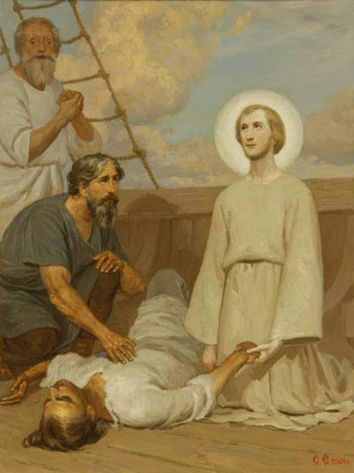 Воскресіння матроса що впав з реї