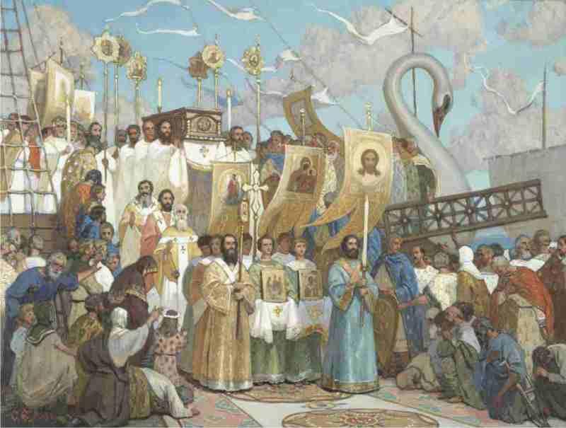 Сретение святых мощей святителя Николая в Бар-граде