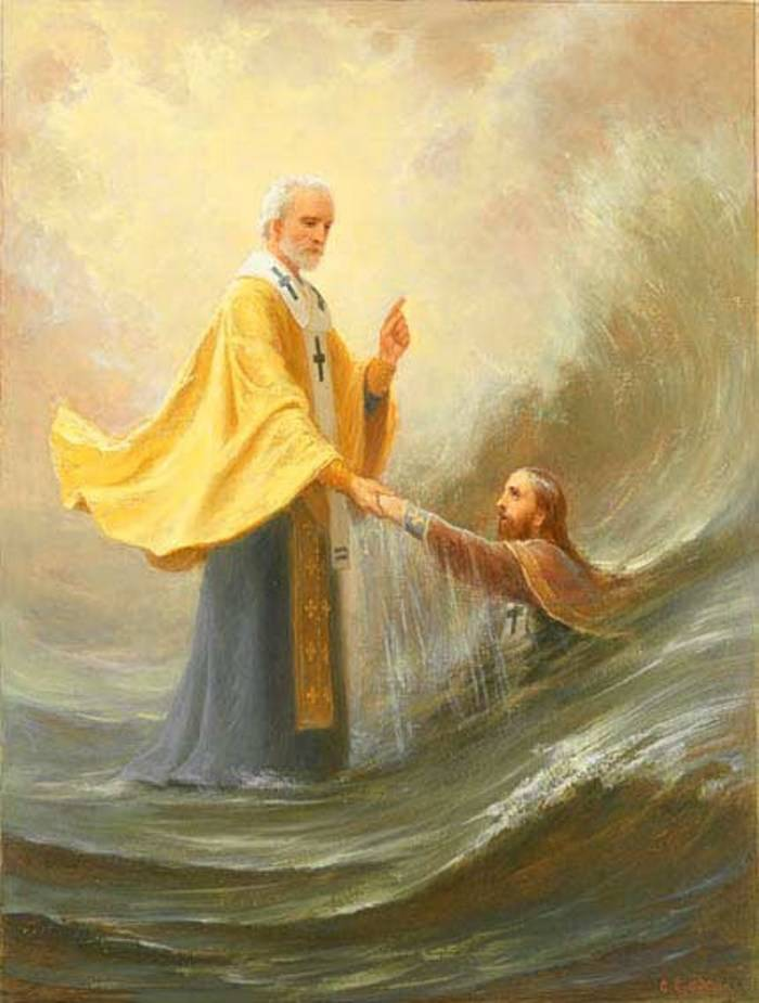 Чудесное спасение патриарха
