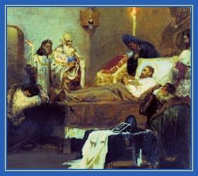 Кончина благоверного князя Александра Невского
