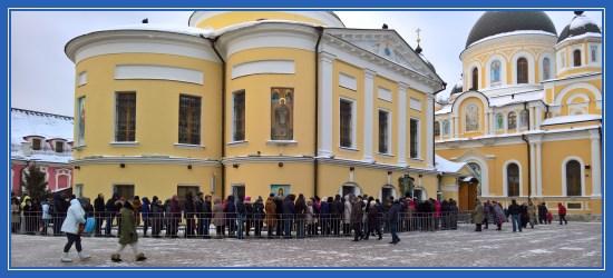 Покровский монастырь, Блаженная Матрона