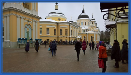 Соборы Покровского монастыря