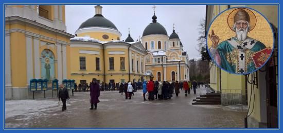 В Покровский монастырь на праздник святителя Спиридона
