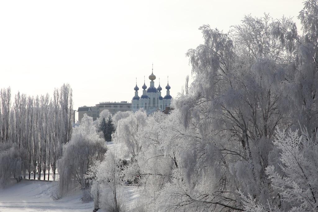 Зимний храм. г. Тамбов