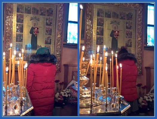 Чудотворная икона блаженной Матроны в Воскресенском соборе