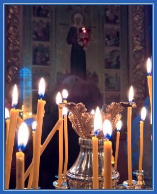 Чудотворная икона святой Матроны в Воскресенском соборе