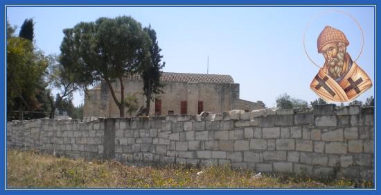 Храм в Эндермли, святитителя Спиридона Тримифунтского