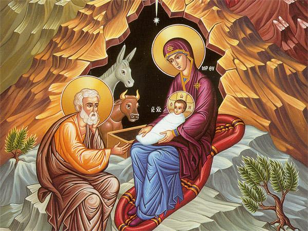 Икона Рождества Христова