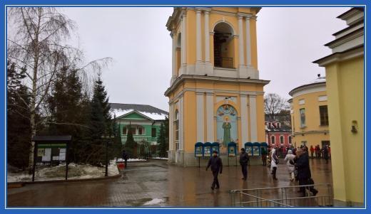 Колокольня Покровской обители