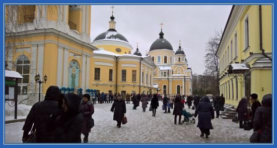 Покровский монастырь, январь 2017