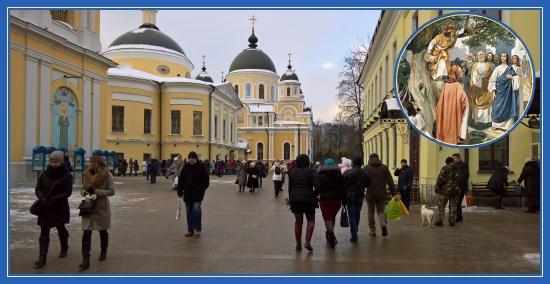 Покровский монастырь. Неделя о Закхее мытаре