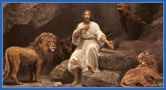 Пророк Даниил, львы, ров