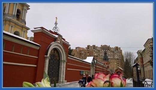Путь в Покровский монастырь