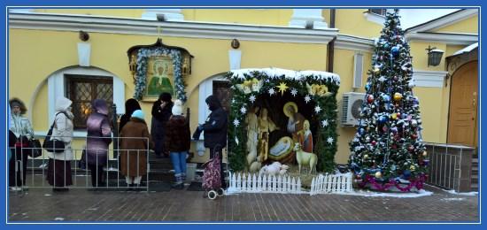 Рождественская поездка в Покровский монастырь