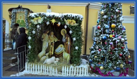 Рождественский вертеп и Рождественская елка!